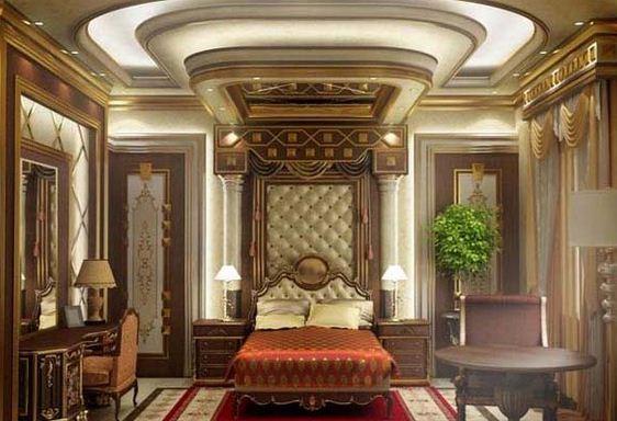 Desain Kmar Tidur Romantis Eropa
