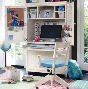 Model Desain Meja Komputer Anak