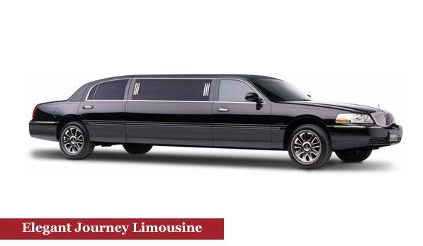 Elegant Limo Car Journey