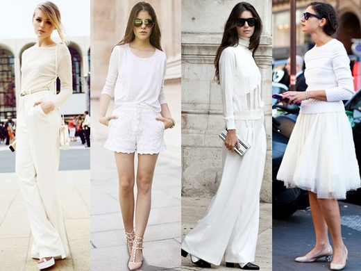 Baju Warna Putih