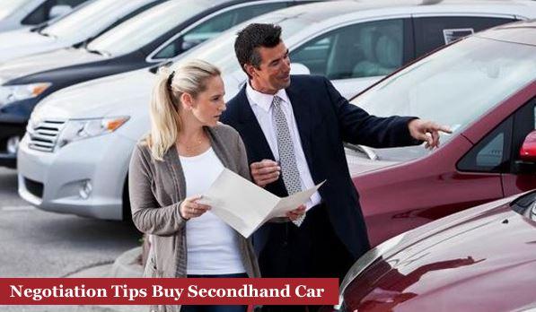 Negotiation Tips Buy Secondhand Car