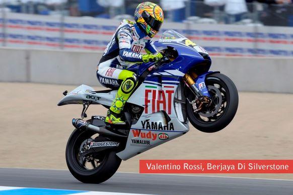 Silverstone Valentino Rossi
