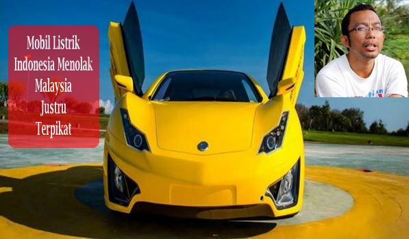 Mobil Listrik Buatan Recky Elson