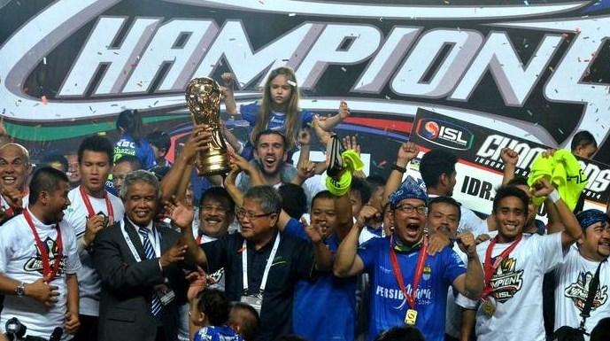 Persib Raih Juara Piala Presiden 2015