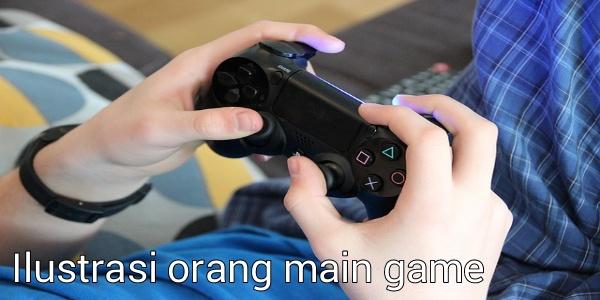 Ilustrasi bermain game. Foto : Istimewa
