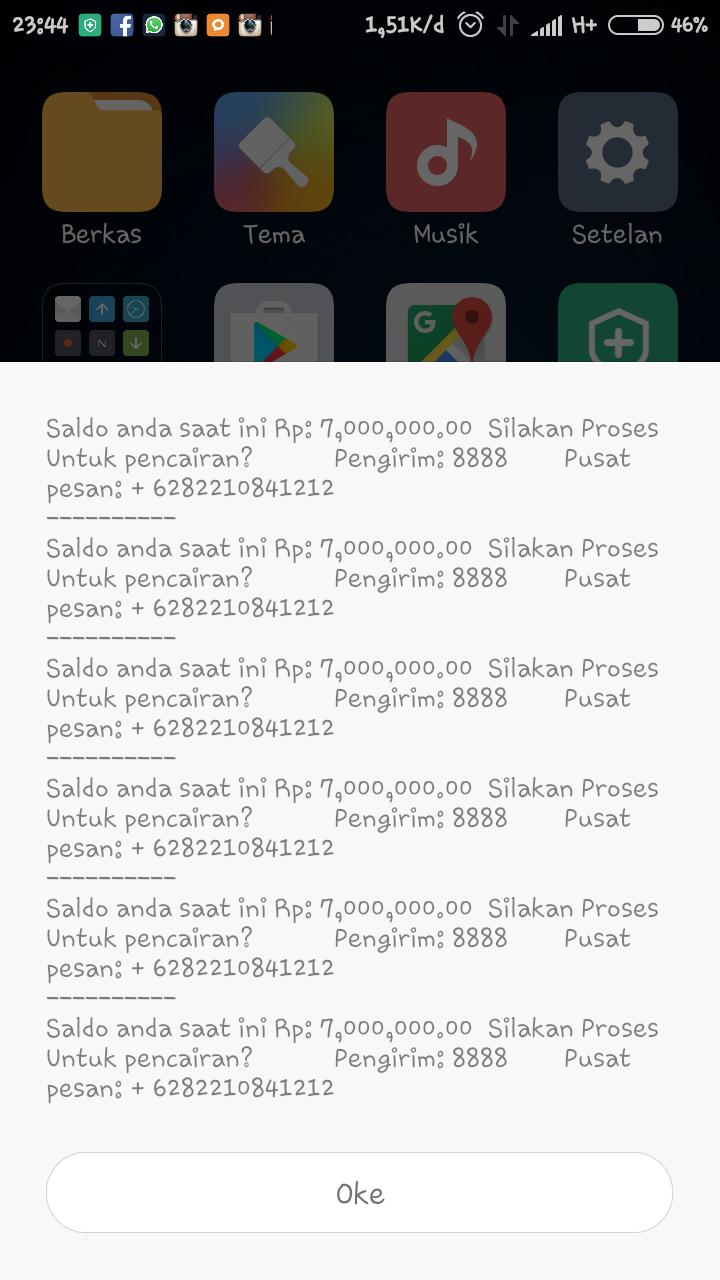 Modus Penipuan SMS Terbaru