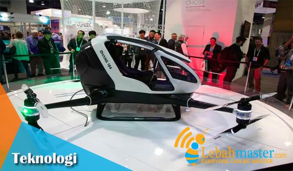 Ehang 184 Drone Terbaru