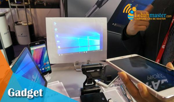 Smartphone Ponsel dan Tablet Proyektor