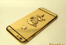 iPhone 7 Berlapis Emas 24 Karat dari Studio Karalux