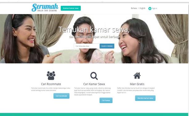 Startup Online Serumah Soraya Feruzia