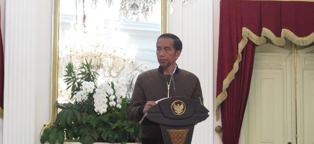 Jaket Bomber Jokowi
