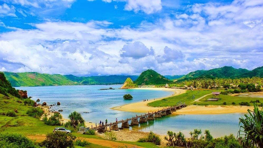 Tempat Wisata Terpopuler Di Indonesia Mandalika Pulau Lombok