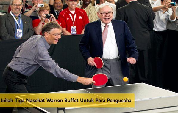 Motivasi Dari Warren Buffet Untuk Pengusaha
