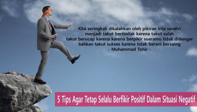Tips berfikir Positif