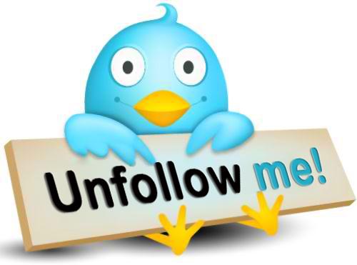 Unfollow Di Twitter