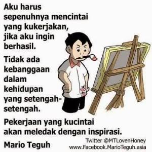 Pesan Mario Teguh Tentang Hidup