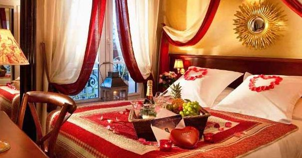 Model Desain Kamar Tidur Romantis