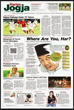 Cara Mengirim Artikel Ke Koran Harian Jogja
