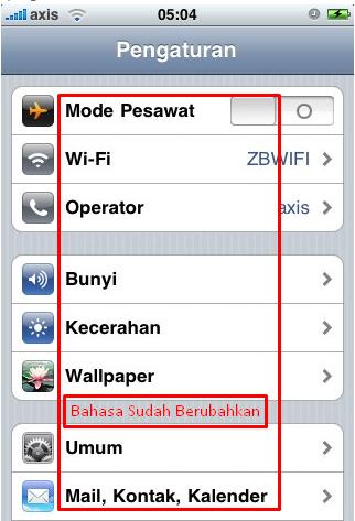 Cara Merubah Bahasa Iphone 6 Ke Bahasa Indonesia