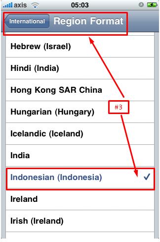 Cara Setting Bahasa Pada Iphone 6