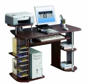 Desain Meja Komputer Modern