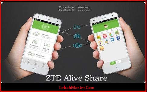 Fitur Alive Share ZTE