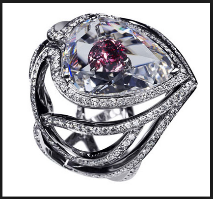 Urutan ke empat cincin kawin Termahal : Secret Kiss of the Rose