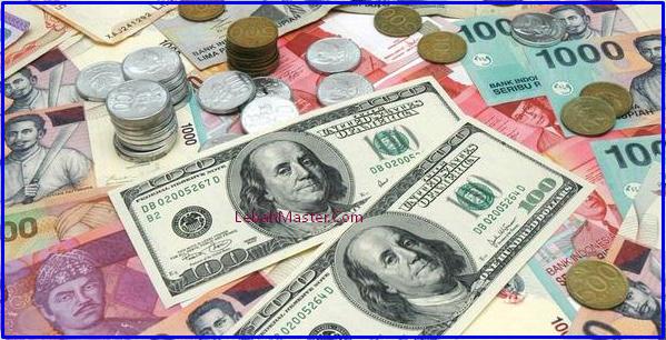 Nilai Tukar Rupiah Ke Dollar