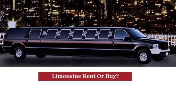 Limousine Rent Or Buy