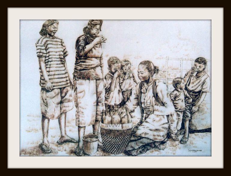 Lukisan Wawan Geni
