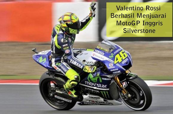 Silverstone Valentino Rossi MotoGP Inggris