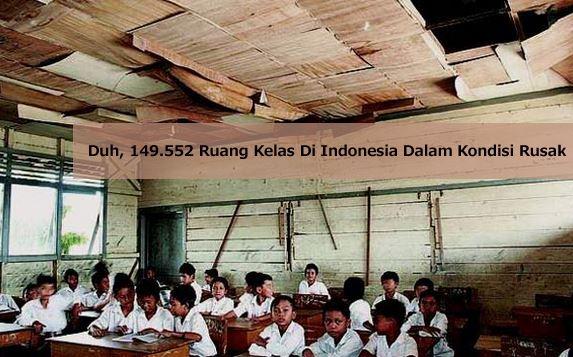 Kondisi Ruangaan Kelas DI Indonesia