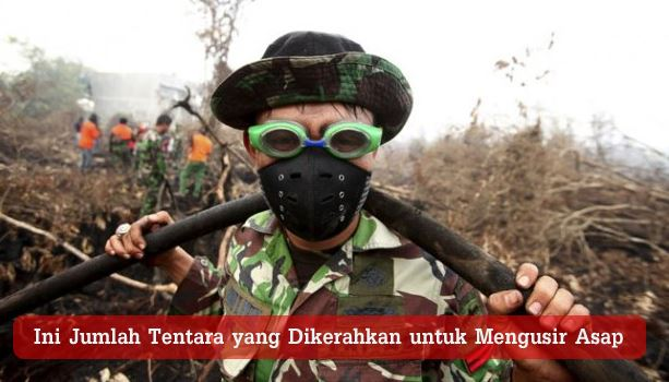 Tentara Pemadam Api Penyebab Asap