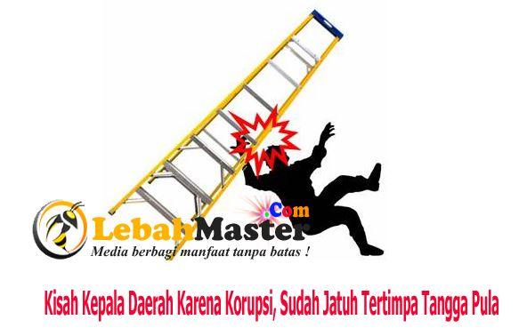 Kepala daerah Bogor korupsi sudah Jatuh Tertimpa Tangga