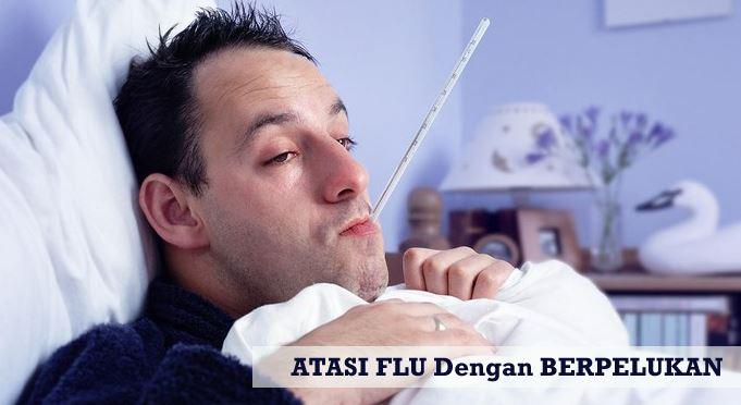 Berpelukan Atasi Flu