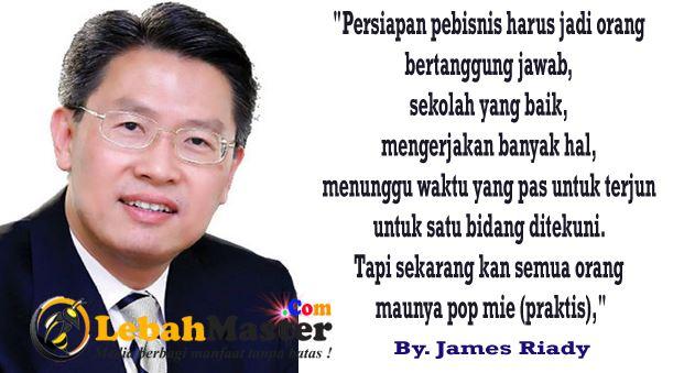 Tips Bangkit Dari Bangkrut Ala James Riady