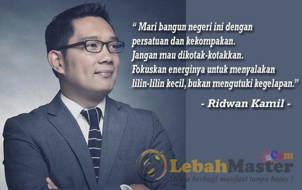 Walikota Bandung Ridwan Kamil