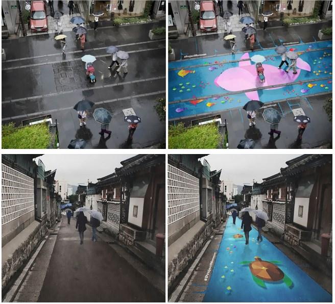 Lukisan Indah di Jalanan Korea Selatan
