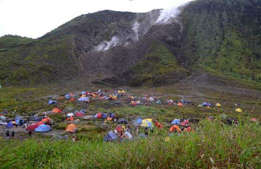 Pendaki Gunung Merapi