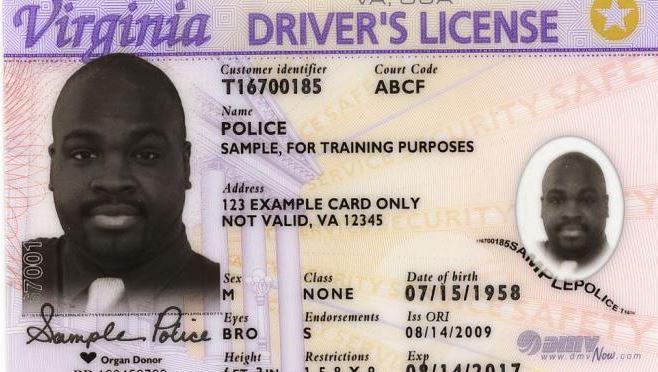 Virginia Foto Senyum Pada SIM