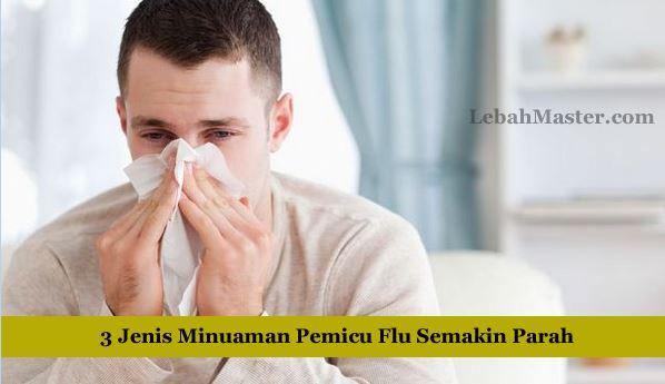 Jenis Minuman dan Penyakit Flu