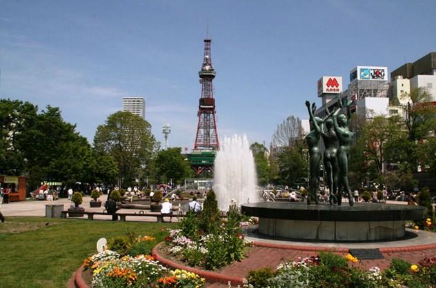Kota Sapporo di Hokkaido Jepang