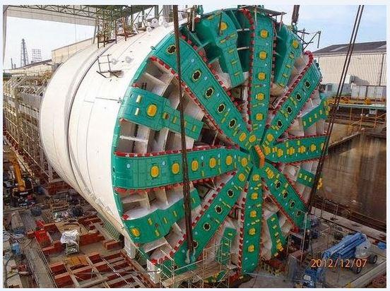 Mesin Terbesar Di Dunia Bertha