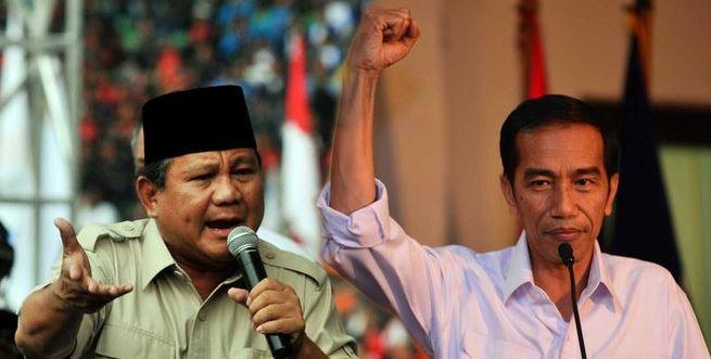 Joko widodo Vs Prabowo Subianto