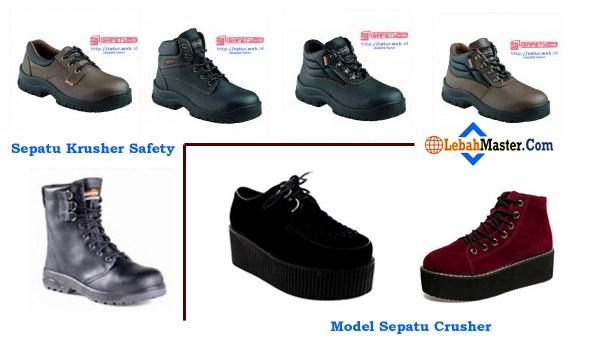 Sepatu Crusher dan Sepatu Krushers