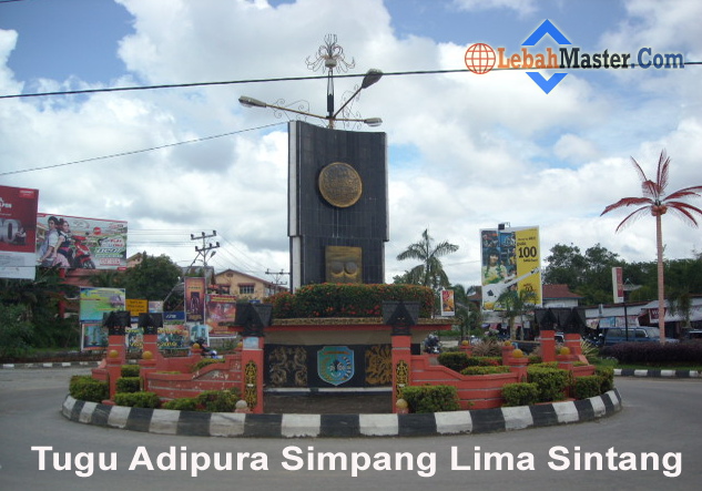 Tugu Adipura Simpang Lima Kota Sintang