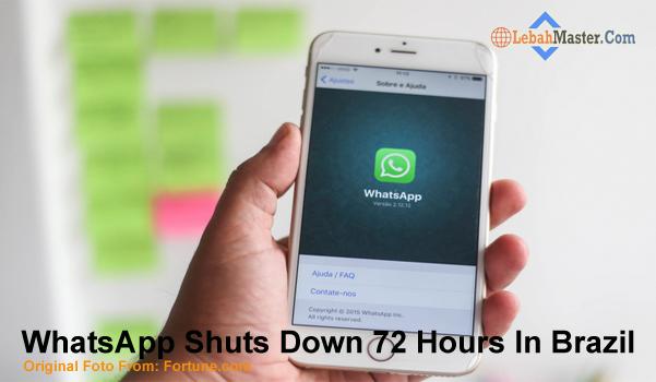Negara Brazil Blokir WhatsApp