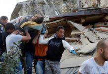 Gempa Bumi Menguncang Italia Bagian tengah