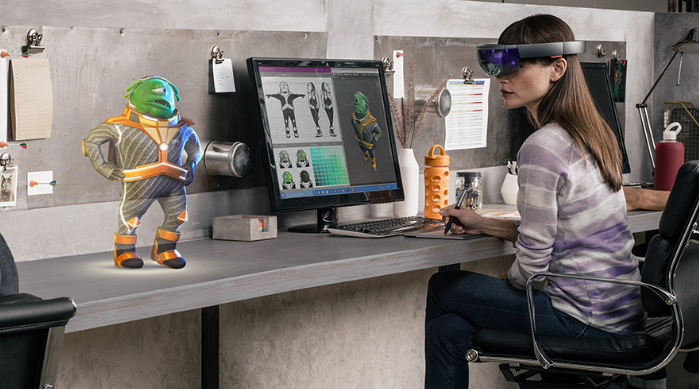 Microsoft Hololens Virtual Reality