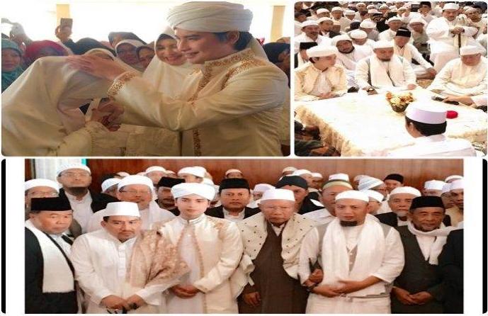 Putra Ustadz Arifin Ilham Resmi Menikahi Gadis Mualaf 02